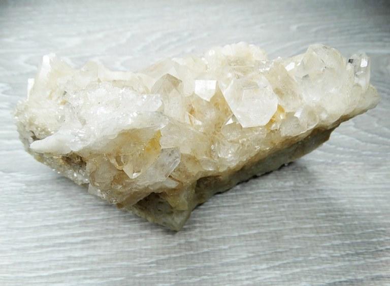 La lithothérapie, quartz clair