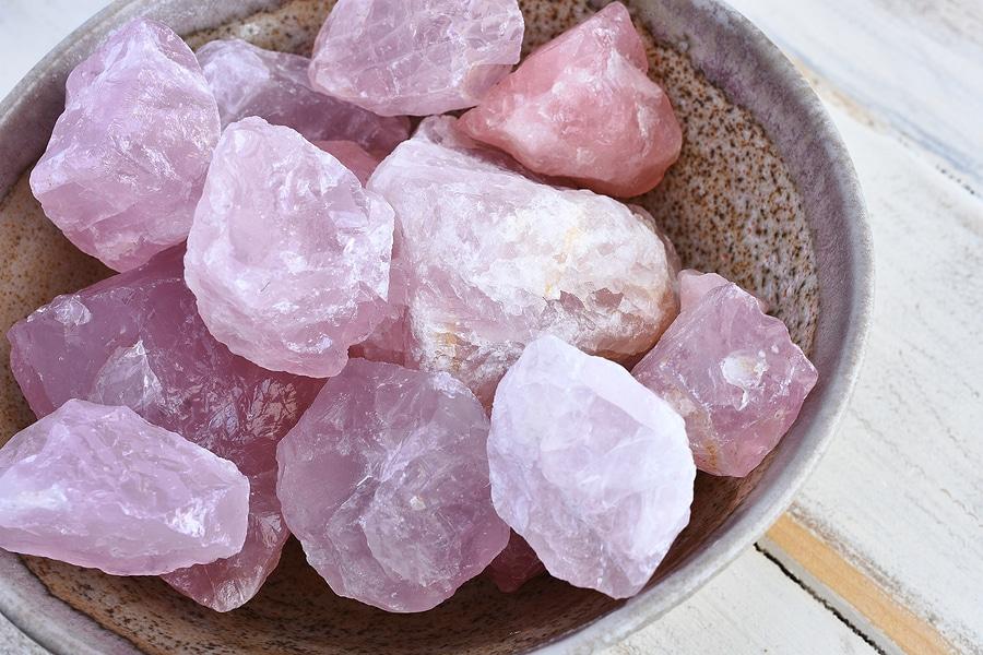 La lithothérapie quartz rose