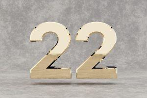 chiffre 22 numérologie