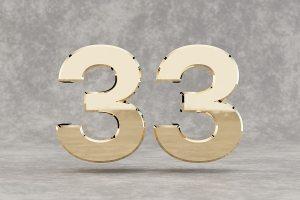 33 numérologie signification