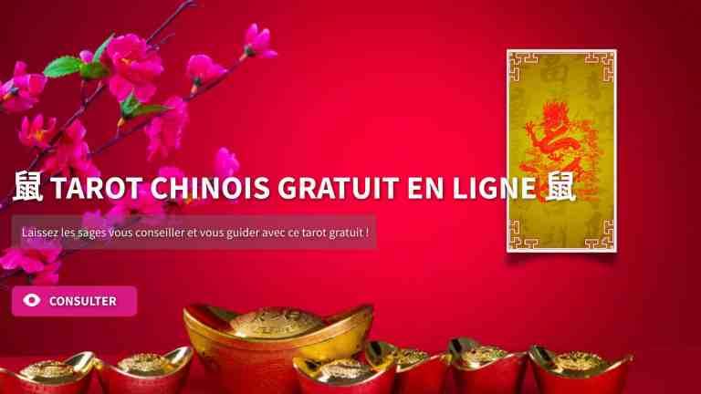 tarot chinois gratuit