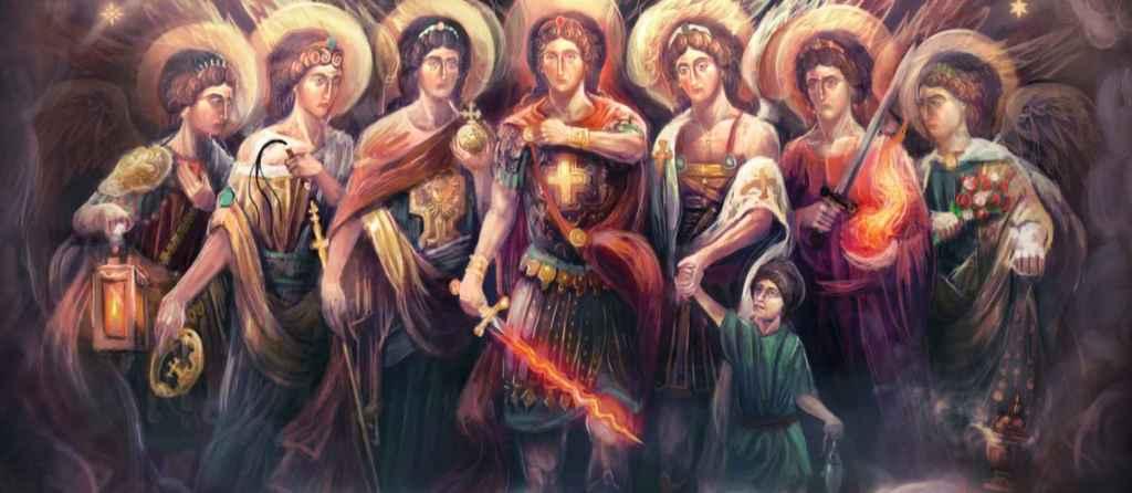 Les sept archanges