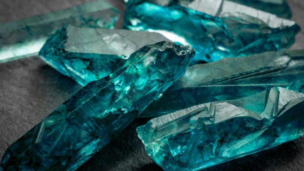 soins par les cristaux aigue marine